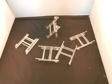 "CLEAR EASEL STANDS 3"" X 2"" ""NEW"" SET OF 5"