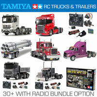 TAMIYA RC Trucks, Trailers and Radio Bundles - Choose