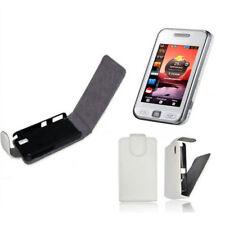 Flip-Style-Case für Samsung GT-S-5230 Star-1 Handy-Klapp-Tasche  Weiss