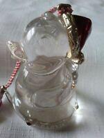 "2002 Lenox ""Baby's First"" Ducky Ornament Full Lead Crystal~ Christmas"