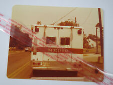Fire & Rescue Life Vintage Photo 1978 ParamedicTruck Medic Hillard Columbus Oh