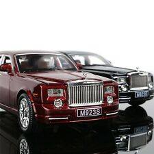 Car Model 1:24 Rolls-Royce Phantom Alloy Diecast Car Toy Pull Back Cars Gifts