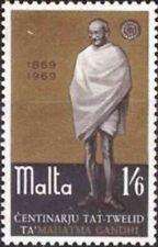 Malta 1969 Stamps Birth Centenary of Mahatma Gandhi MNH