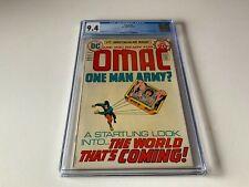 OMAC 1 CGC 9.4 JACK KIRBY ORIGIN 1ST APPEARANCE ATOMIC DC COMICS 1974 CC