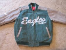 PHILADELPHIA EAGLES FULLY LINED GENUINE LEATHER JACKET MEN'S LARGE RETAIL $249