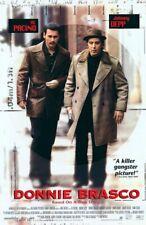 DONNIE BRASCO REPLICA 1997 MOVIE POSTER
