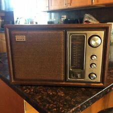 Rare Vintage Sony Am Fm 2Band Radio Model Fidelity Sound Works Tested