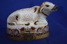 ROYAL CROWN DERBY WATER BUFFALO PAPERWEIGHT MMIV - BOXED
