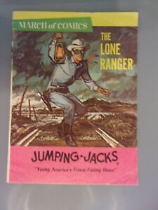 Lone Ranger March of Comics # 322  1968 Fine 5.5 Western Promotional