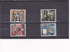 Germany B356-359 MNH ( some backs have tiny black speckles, see scan)