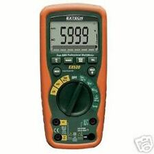 Extech EX520 — HeavyDuty Waterproof True RMS DMM & Thermometer