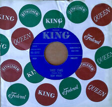 RUBY WRIGHT - THREE STARS b/w I ONLY HAVE ONE LIFETIME - KING 45 - 1959