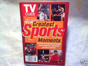 1998 TV GUIDE Greatest Sports Moments tiger woods john elway kirk gibson