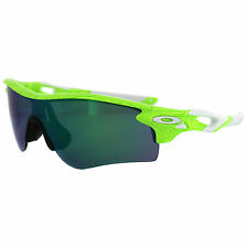 Oakley RADARLOCK PATH Fingerprint Retina Burn Jade & Black IridiumOO9181-47 NIB