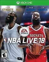 NBA Live 18 (Xbox One, 2017) Choose with or without tracking Brand New read desc