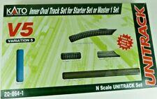 Kato Unitrack Inner Oval Track set for starter or Master 1 set USED altered