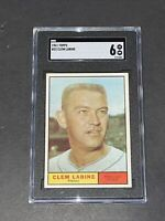 1961 Topps #22 Clem Labine SGC 6 Newly Graded & Labelled