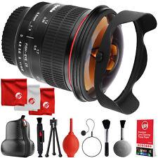 Opteka 6.5mm f3 Fisheye Lens for Canon EF 80D 77D T7i T7s T7 T6i T6 T5i T5 T4i
