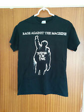 Vintage Rage Against The Machine event tour t-shirt Finsbury Park gig 2010 small