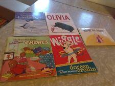Lot of six small kids books