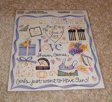 Creative Imaginations Retired Sticker ~ Bridal Shower by Debbie Mumm.