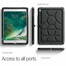 Case For Apple iPad Pro 10.5 POETIC【TurtleSkin】Heavy Duty Protection Case Black