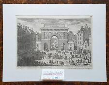 XVII ème - Paris X ème Superbe Gravure La Porte St Martin PL 34 Editée en 1680
