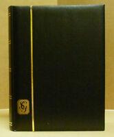 GIBBONS STOCK BOOK - 64 BLACK  PGS - BLACK CVR - NEW - FREE SHIP  #SGIB-R2671BLK