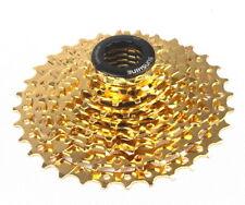 SUNSHINE MTB 9 Speed 11-32T Cassettes Mountain Road XC AM Bike 9S Cassette Gold