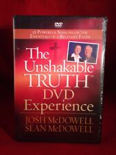 The Unshakable Truth (Two DVD Set,Josh & Sean McDowell) BRAND NEW, SEALED.