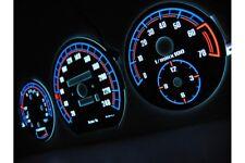Mercedes 190 (W201) glow gauges dials plasma dials kit tacho glow dash W126