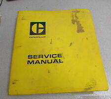 Caterpillar Cat 621 J621 Tractor Scrapers Service Repair Manual 9A 15U 23H 37G
