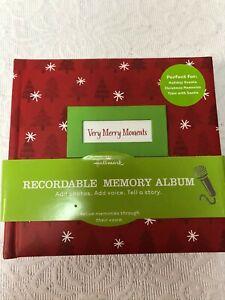 Hallmark Recordable Memory Album (Christmas) NEW!