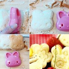 Rosa Hase Modell Ausstechform Sandwich Brot Toast Schneider Form Küchenhelfer