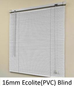 new 16mm  eco-lite(PVC) venetian blind, colour:white (sell-out special)