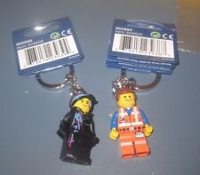 LEGO Movie EMMET and WILDSTYLE Keychains -His&Hers-850894 850895 Party Favor NEW