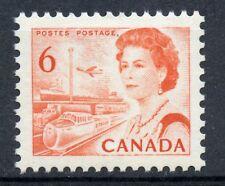 Weeda Canada 459biv VF MNH 6c orange Centennial on Hibrite paper CV $35