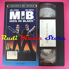 VHS film MEN IN BLACK MIB Jones Smith VIDEOTECA DEL SECOLO MONDADORI*(F92)no dvd