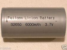 1 pc FEILONG 32650 3.7v 6000mAh Li-ion  RECHARGEABLE BATTERY
