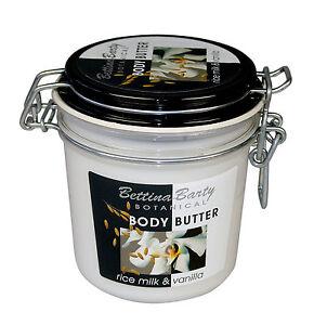 Bettina Barty Botanical RICE MILK & Vanilla Body Butter 400 ml