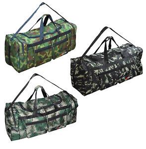 XL Reisetasche camouflage Tarndruck Sporttasche Tragetasche Schultertasche