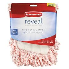 Four (4) Rubbermaid 1M20 Reveal Mop Dry Dusting Cleaning Pads
