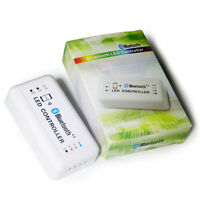 Bluetooth SMART phone RGB LED strip light Kit controller flexible wireless LED