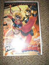 MS MARVEL / CAPTAIN MARVEL 1 - WRAP AROUND COVER - ONE SHOT - NEAR MINT