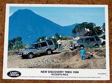 Land Rover Discovery Trek Original 1998 Foto De Prensa-Viaje Alrededor Del Mundo