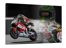 Cal Crutchlow 2016 Moto GP 30x20 Inch Canvas - LCR Honda Framed Picture Art
