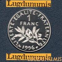 BE - 1 Franc Semeuse 1996 FDC 5 319 Exemplaires Provenant du Coffret