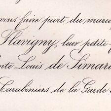 Marguerite De Flavigny 1866 Louis De Simard De Pitray