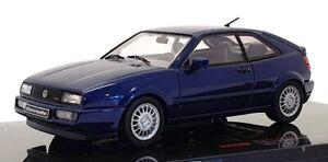 Ixo 1/43 Scale Model Car CLC356N - 1989 Volkswagen Corrado G60 - Blue