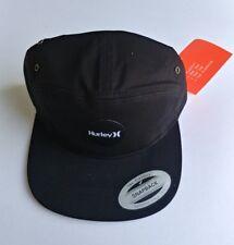 HURLEY Drifter , black Snapback hat cap beanie surf aerobill skate adjustable
